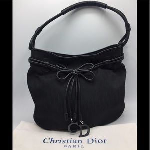 Christian Dior Mini Trotter Tote Shoulder Bag